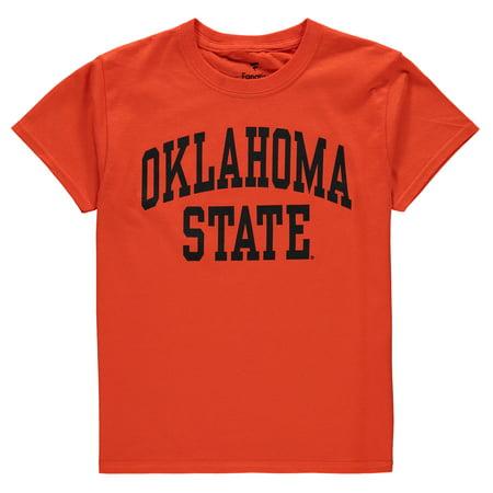 Oklahoma State Cowboys Fanatics Branded Youth Basic Arch T-Shirt - -
