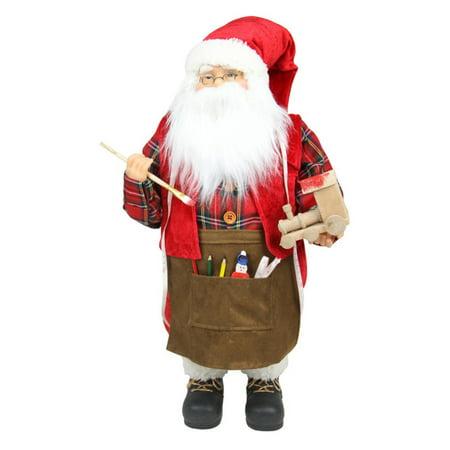 Northlight Animated Painting Santa Claus Christmas Decoration