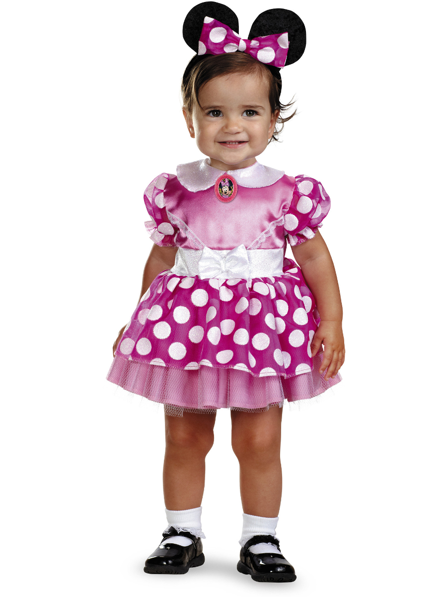 d7c6005cb85d Minnie Mouse Infant Halloween Costume - Size 12-18 Months - Walmart.com