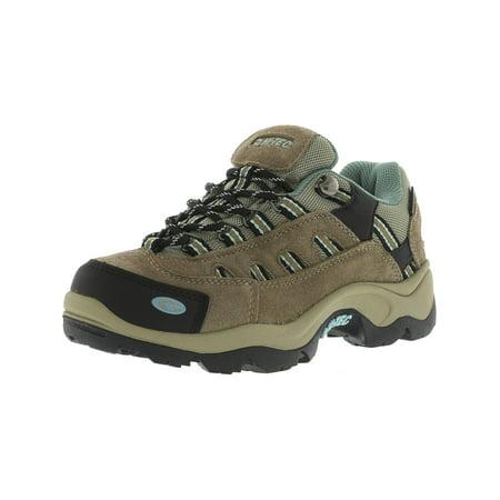 Hi-Tec Women's Bandera Low Waterproof Taupe / Dusty Mint Ankle-High Hiking Shoe - 5M