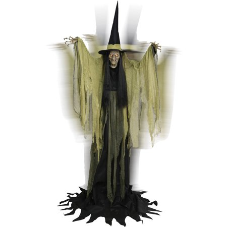 Hagatha The Towering Witch Halloween Decoration