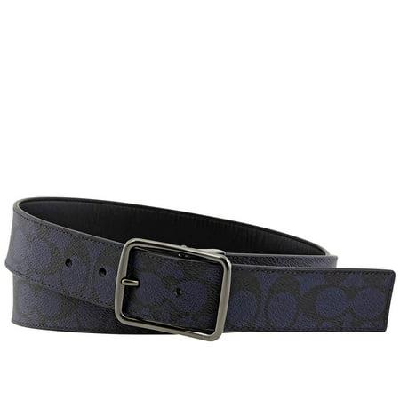 Coach Men's Signature Harness Buckle Cut To Size Reversible Belt, 38mm