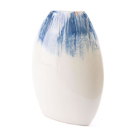 Ombre Round Vase Blue & White for $<!---->