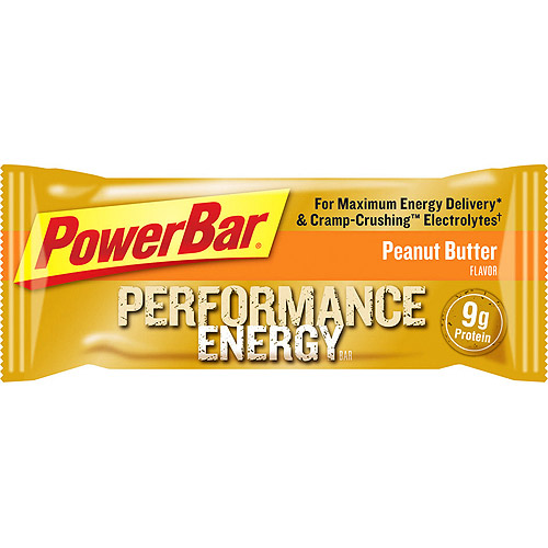 PowerBar Performance Energy, Peanut Butter, 12 count