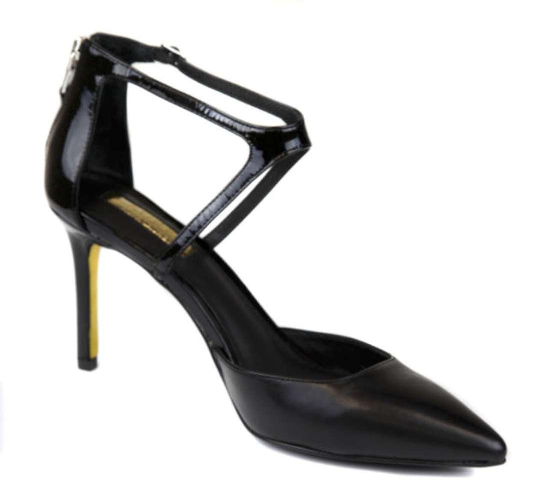 Lauren Toe By Ralph Lauren Womens Kabira Leather Pointed Toe Lauren Ankle Strap Classic ... 5d7264