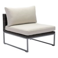 Zuo Modern Malibu Aluminum Patio Middle Chair