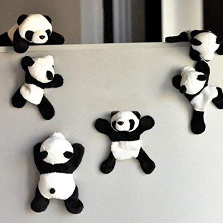 Refrigerator Magnets Fridge Magnets Cute Panda Refrigerator Office Magnet for Calendars Memo - Cute Magnets