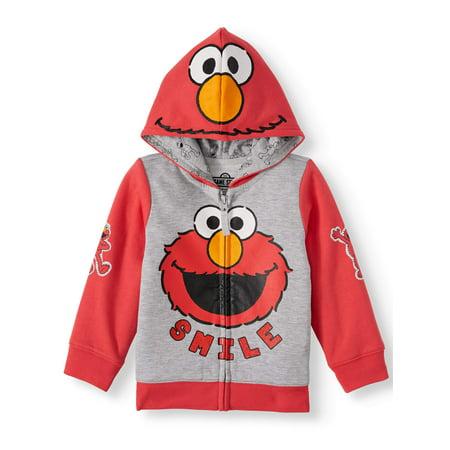 Sesame Street Elmo Toddler Boy or Girl Cosplay Hoodie Sweatshirt Elmo Baby Clothes