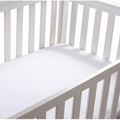 Summer Infant Cotton Crib Sheet, White, 2pk