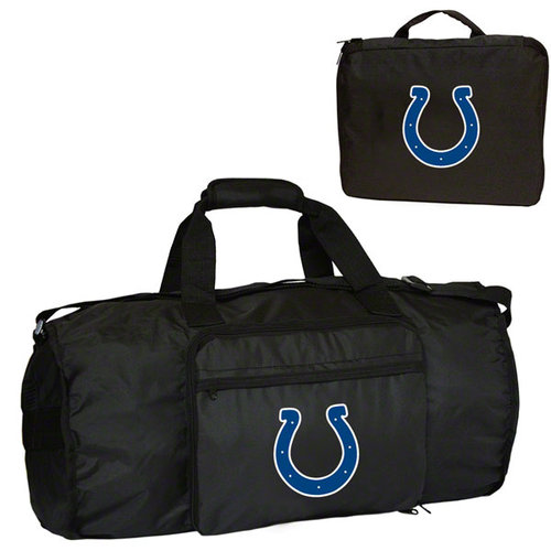 NFL - Indianapolis Colts Fold-Away Duffle Bag