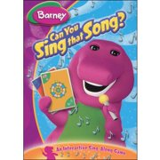 Barney Can You Sing That Song DVD by HIT ENTERTAINMENT