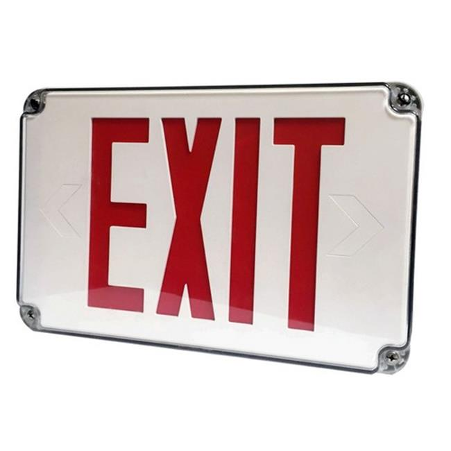 Morris 73452 LED Wet Location Exit Signs Legend Light, Red - image 1 of 1