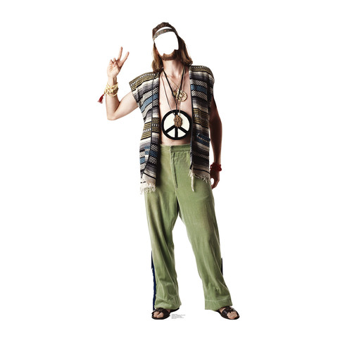 Advanced Graphics Hippie Cardboard Cutout Life Size Stand-In