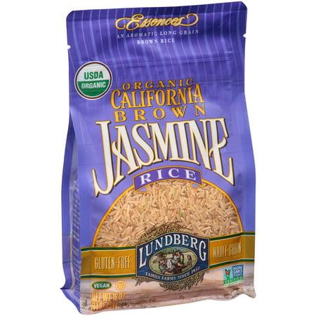 Lundberg Family Farms Organic California Brown Rice Jasmine  16 0 Oz