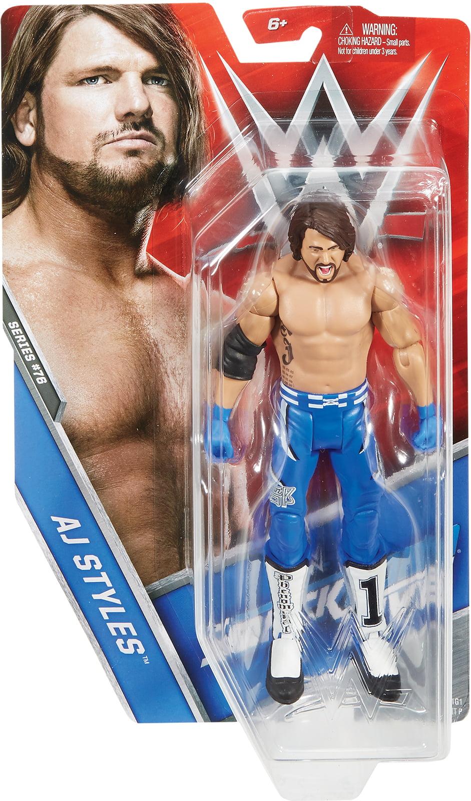 AJ Styles WWE Series 76 Toy Wrestling Action Figure by Mattel