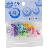 Dress It Up Pony Parade Embellishments, 5 Pack