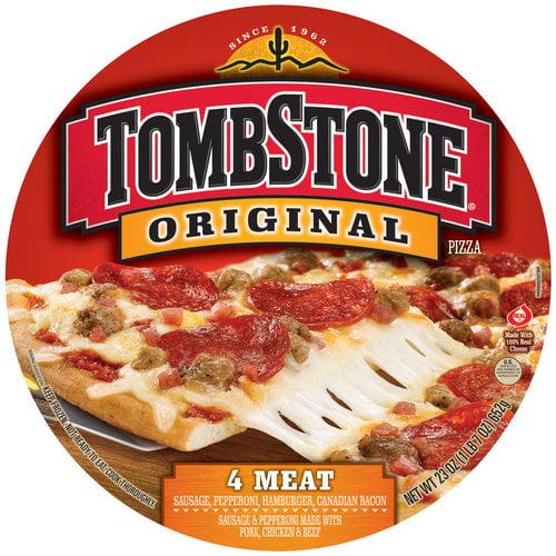 Tombstone Original 4 Meat Pizza, 23 oz