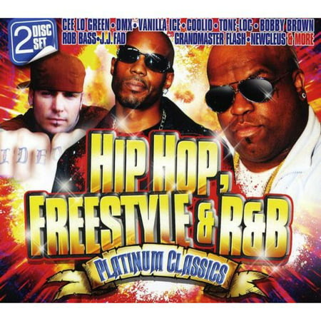 Hip Hop, Freestyle and R&B Platinum Classics (CD)