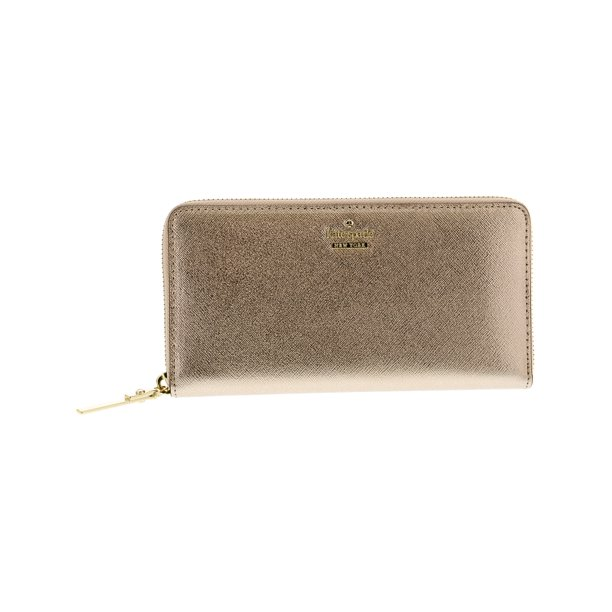 Kate Spade New York Kate Spade Women S Cameron Street Lacey Leather Wallet Rose Gold Walmart Com Walmart Com