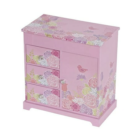 Mele Designs Poppy Girl's Musical Ballerina Jewelry Box - Little Girls Jewelry Boxes