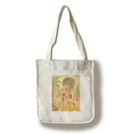 Josephine Baker Vintage Poster (artist: Jesus Calvo) Mexico c. 1937 (100% Cotton Tote Bag - - Jesus Bags