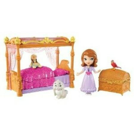 Sofia the First Sofia Doll and Royal Bedroom Play Set - Walmart.com