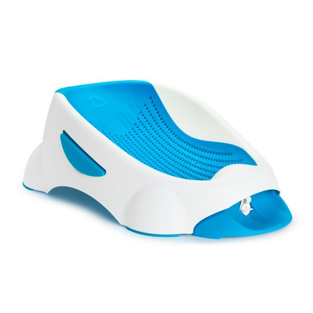 Munchkin Clean Cradle Non-Slip Infant Bather with Inclined Headrest, Blue