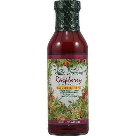 (2 Pack) Walden Farms Sugar Free Raspberry Vinaigrette, 12 Fl