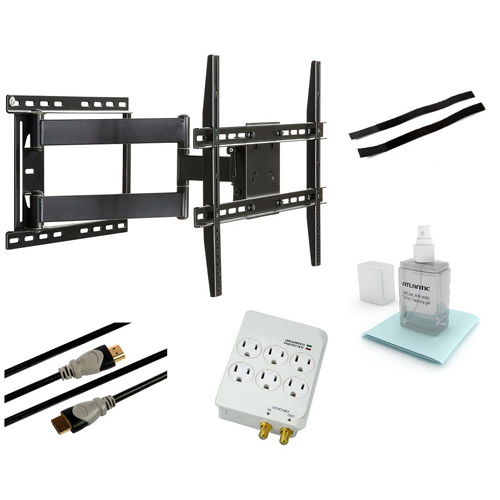 "Full Motion Wall Mount Kit for 37"" to 64"" Flat Panel TVs"