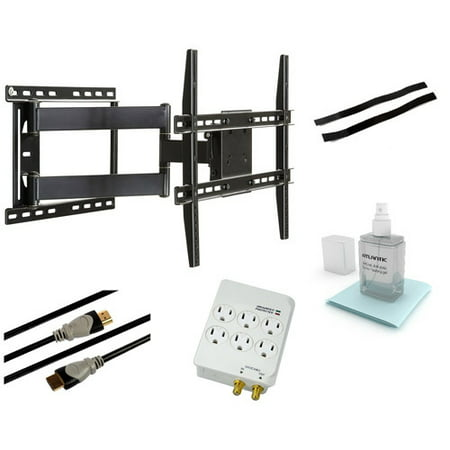 "Full Motion Wall Mount Kit for 37"" to 64"" Flat Panel TVs by"