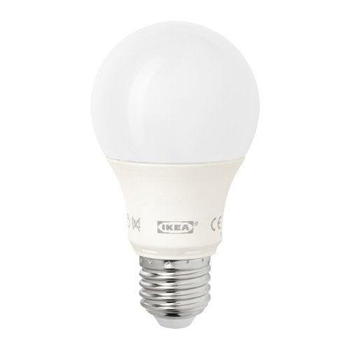 IKEA E26 LEDARE Dimmable Light Bulb LED 600 Lumen 8.6W