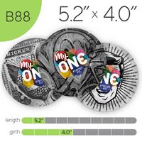 MyONE Condoms Size B88, 12-Count