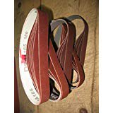 Econaway Abrasives 1x18 Twenty-Five Piece Belt GENERAL Assortment-(Compatible with Work Sharp Ken Onion Knife & Tool Sharpener OPTIONAL BLADE Grinding Attachment-Model# (Work Sharp Ken Onion Blade Grinding Attachment)