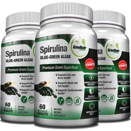 Spiruline comprimés - Algues bleu vert - Veggie Formule / sans gluten