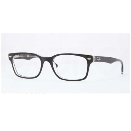 483825b4560 Eyeglasses Ray-Ban Optical RX 5286 2034 TOP BLACK ON TRANSPARENT -  Walmart.com