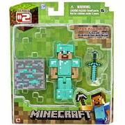 Minecraft Diamond Armor Steve Action Figure