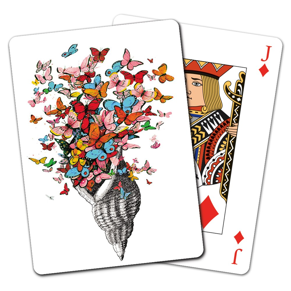 Tree-Free Greetings Shell of Joy Playing Cards -CD15863