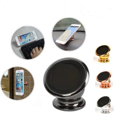 Item Holder - 360 Magnetic Car one Touch Cell Phone Dash Mount Stand Phone Holder -  Phone Holder for Car/Home/Office - Compatible Any Phones