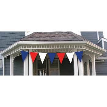 30' PATRIOT PLASTIC BANNER SET 12 PACK](Patriots Banners)