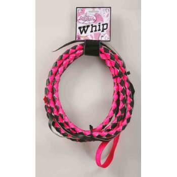 COWGIRL WHIP (PINK/BLACK)](Cowgirl For Halloween)