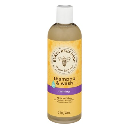 Burt's Bees Baby Shampoo & Wash, Calmant, 12 Onces