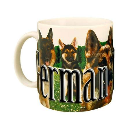 German Shepherd - 18 oz. Coffee Mug