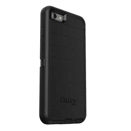 OtterBox Defender Pro Series Case for iPhone 6 Plus/6s Plus, Black (Iphone Six Otterbox Defender Case)