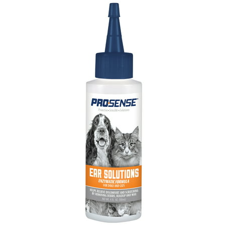 Pro-Sense Ear Solutions Enzymatic Ear Cleanser for Cats and