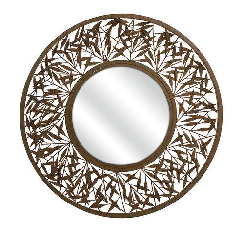 Wildon Home   Mazatol Iron Wall Mirror