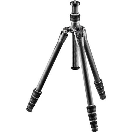 "Gitzo Traveler GT0545T Series 0 4-Section Carbon Fiber Tripod, 22 lbs Capacity, 48"" Max Height"