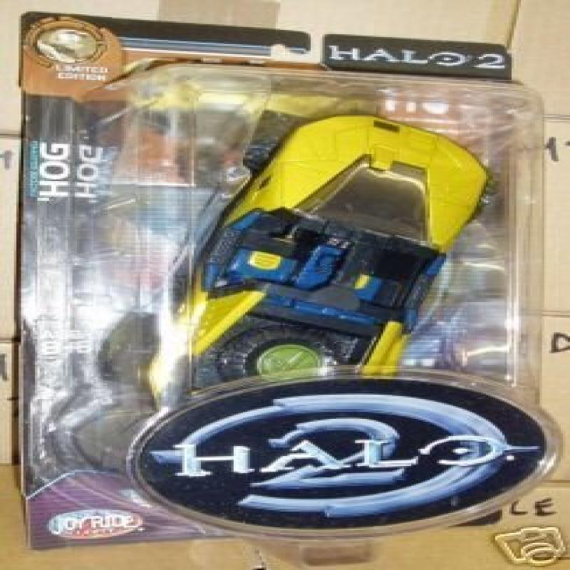 "Halo 2 Gold Warthog ""The Hog"" Off-road Gamestop Exclusive..."