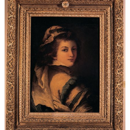 Uffizi Gallery - Tiepolo Giandomenico Portrait Of A Page 18Th Century Oil On Canvas Italy Tuscany Florence Uffizi Gallery Everett CollectionMondadori Portfolio Poster Print