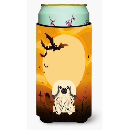Halloween Pekingnese Cream Tall Boy Beverage Insulator Hugger (Tall Cream)