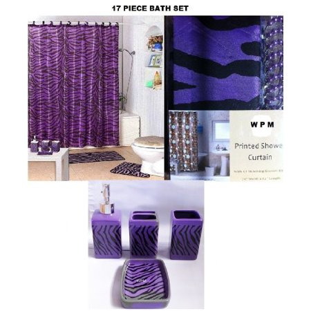 Walmart purple bathroom sets 28 images purple bathroom decor ideas pictures tanyakdesign 17 - Purple bathroom accessories uk ...